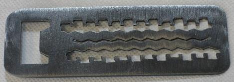 Jeep Bottle Opener - Tire Tracks Style