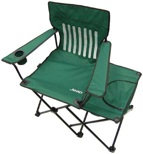 Jeep folding camping chair
