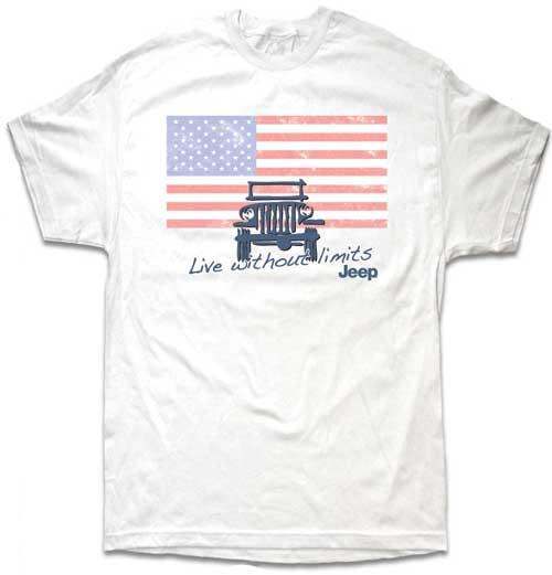 jeep flag shirt