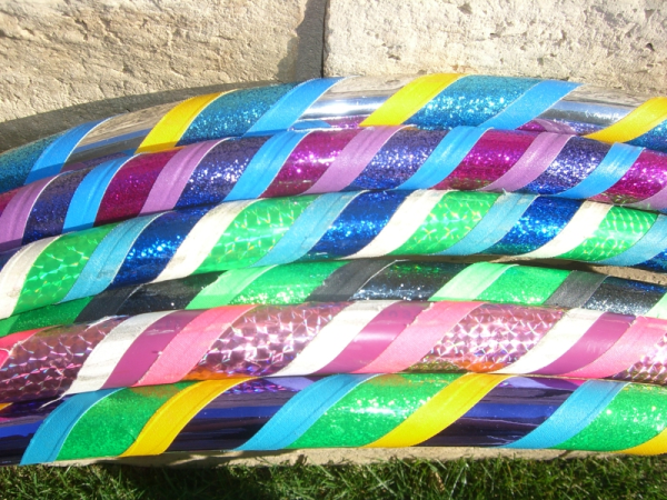 custom made hula hoops