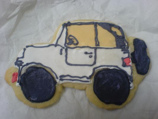 Jeep Cookie