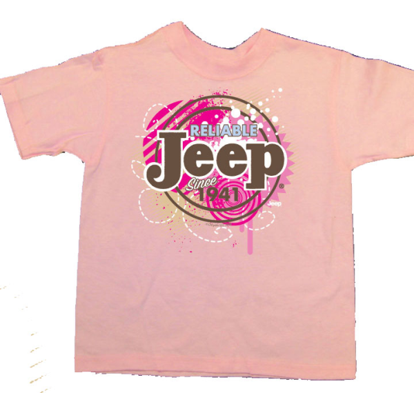 New Girls JEEP ATTITUDE Ringer Tee (Just $9 With Coupon Code)