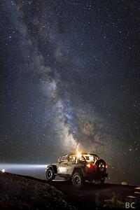 jeep star gazing night wrangler topless